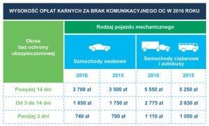 Kary za brak OC w 2016_CUK Ubezpieczenia